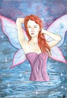 Purple fairy by VictoriaThorpe
