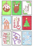 Free Christmas Gift Tags / Card Topper Printable! by VictoriaThorpe