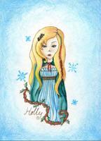 Holly Christmas Printable by VictoriaThorpe