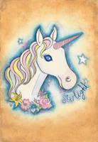 Starlight the Unicorn by VictoriaThorpe