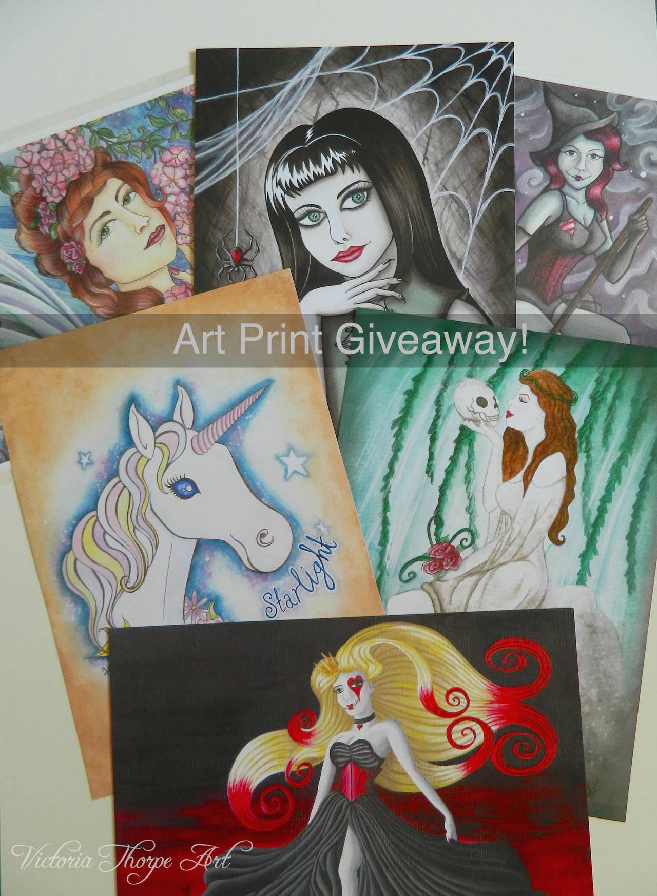 Art Print Giveaway! by VictoriaThorpe