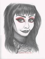 Shannon Gothic Sketch by VictoriaThorpe