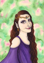 Elven Princess by VictoriaThorpe