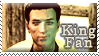 The King - Fallout Fan Stamp by LadyBoromir