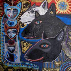 dogs by arturasrozkovas
