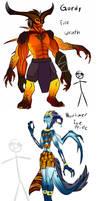 Seven Deadly Demons by kittin12376