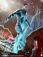 Thunder leg Hayden by DavidGaillet