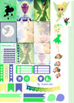 Tinkerbell - Stickers Imprimibles by AnacarLilian