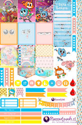 Amazing World of Gumball Free Printable Stickers by AnacarLilian