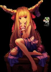 Ibuki Suika by YumeMegpoiid