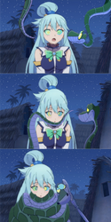 (comic) Kaa And Aqua by Hypnotic37