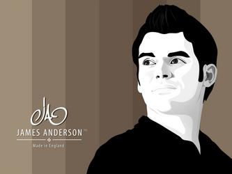 James Anderson Wallpaper by mukundnadkarni