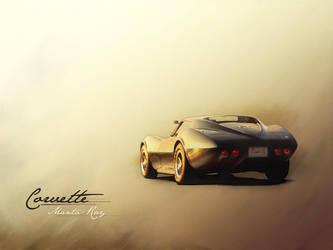 Chevrolet Corvette Manta-Ray by mukundnadkarni
