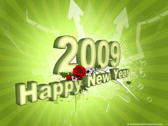 Happy New Year - 2009 by mukundnadkarni