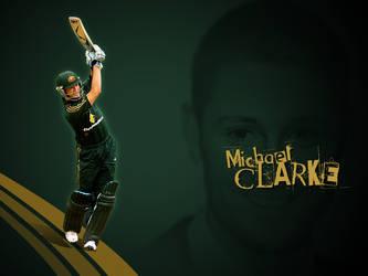 Michael Clarke by mukundnadkarni