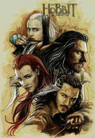 The Hobbit by KerdzevadzeART