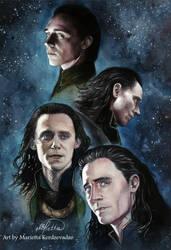 Loki by KerdzevadzeART