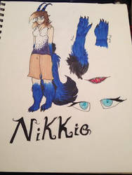 Nikkie new reff by The-Lonely-Child