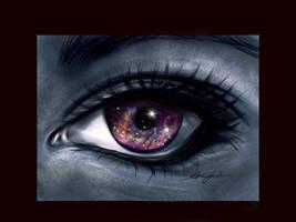 Starry eye by ailves4