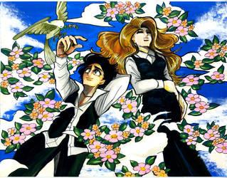 Under the Sky Blue by INAGAWA-midori