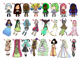 Large Mixed Price Adopts Batch - OPEN [2/24] by FrozenDiamond267