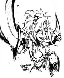 Barbaric Rogue Des by PEPPERTODE