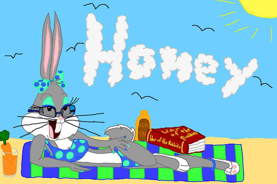 honey bun in the sun by 1cartoonlovinfreak12