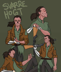 Ghoul OC - Svarre Hogt by TheSmilingKnights