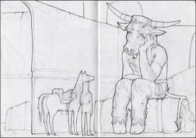 Minotaur by CBedford