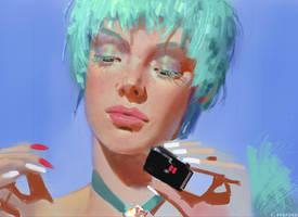 Cosmic Girl by CBedford