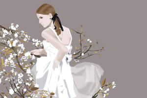 Autumn Bride by lilvdzwan