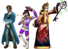 Miitopia All transparent by TheRickMaster