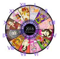 2018 Summary of Art by Magenta-Fantasies