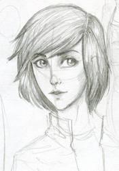 Thalia portrait by Dinoralp
