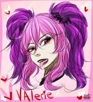 Val Doodle by daredevil48