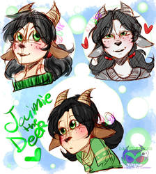 Jaimie the Fawn by daredevil48
