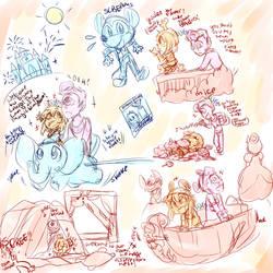 Disneyland sketch dump by daredevil48