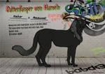 Rattenfanger von Hameln 482ST Espada cat by SheduMaster