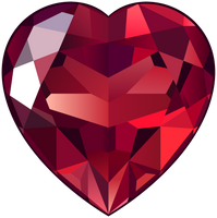 February special item: Ruby Heart by SheduMaster