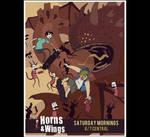 HORNSposter illustrations by Kriegaffe