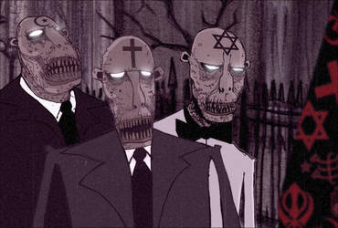 zombies of faith by Kriegaffe