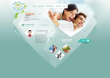 Diet - Health Web Design by l3w3nt