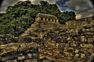 Palenque Ruins - II by karikaiyuk