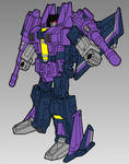 Duskwing Reference, Robot Mode by DragonessEclectic