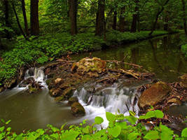 Running water by Cauldfield