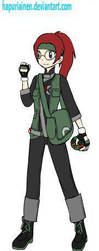 Pokemon Character Profile - Alicia Daniels by FuryouMiko