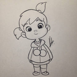 Cute Little Girl 2 By Easypencildraw On Deviantart
