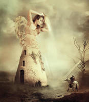 Windmill of lost hope by AmandineVanRay