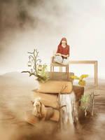 Unread Books by AmandineVanRay