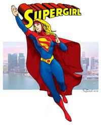 Supergirl43 by SashScott